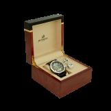 طقم هدية ساعة مع كبك من دينستي العالمية - اللون الاسود