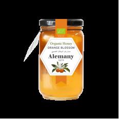 عسل زهرة البرتقال العضوي