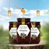مجموعة عسل الغابة السوداء العضوي